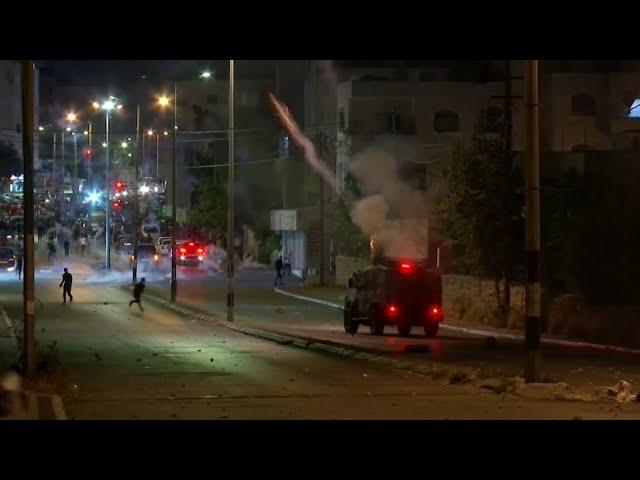 以巴衝突》巴勒斯坦激進組織朝耶路撒冷射火箭 以色列空襲加薩走廊