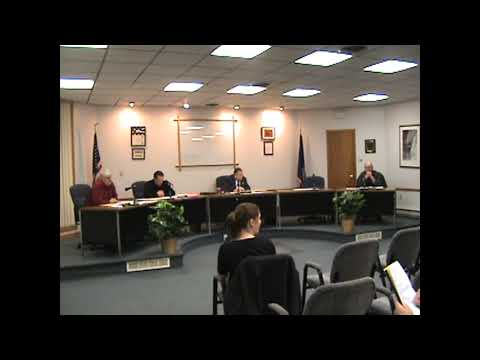 Rouses Point Village Board Meeting  1-19-10