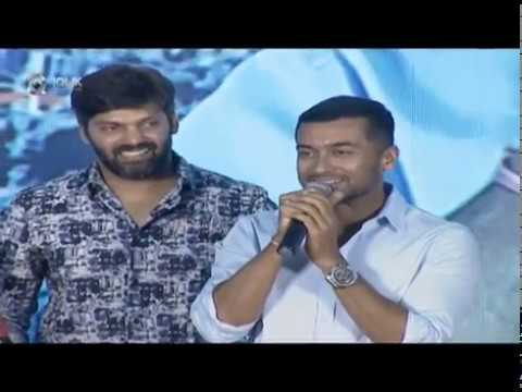 Hero Suriya Superb Speech At Bandobast Pre Release Event