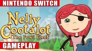 Nelly Cootalot: The Fowl Fleet Nintendo Switch Gameplay