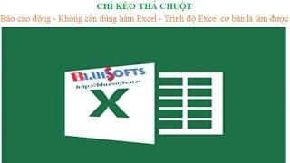 5 bước tạo báo cáo tổng hợp nhập xuất tồn trong Excel chỉ bằng chuột với Add-in A-Tools
