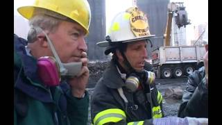 9/11: Jon Snow visits Ground Zero two months after the attack  | Channel 4 News