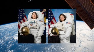NASA Astronauts Complete All-Woman Spacewalk