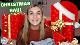 WHAT I GOT FOR CHRISTMAS HAUL 2018!