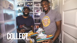 A Look Inside NBA Player Langston Galloway's RARE Sneaker Collection | iCollect