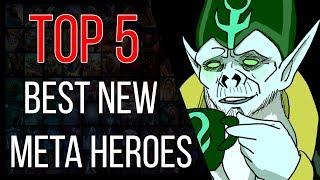 Top 5 best dota 2 heroes of patch 7.21b (low skill bracket)