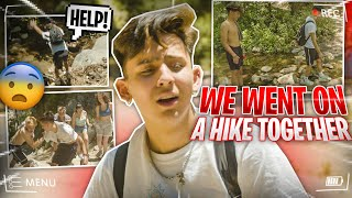 i took my friends on a hike and this is what happened...