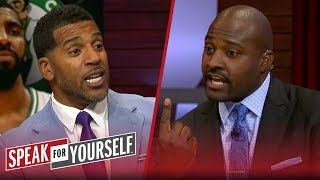 Jim Jackson and Marcellus Wiley react to Kyrie's comments about Murray   NBA   SPEAK FOR YOURSELF