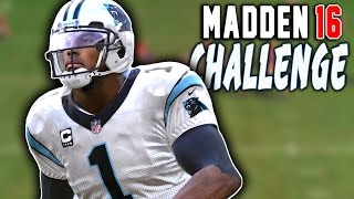 Can Cam Newton Really Do It All? - Madden 16 NFL Challenge!