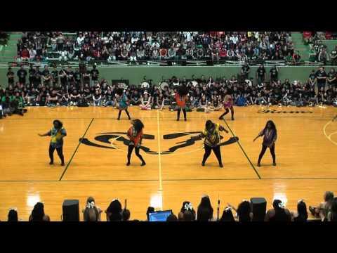 2016 Berkner Pep Rally #5 - African Dance