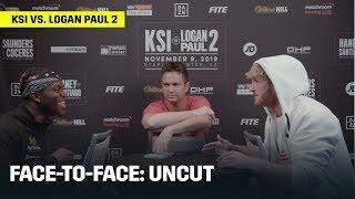 FACE-TO-FACE   KSI vs. Logan Paul 2