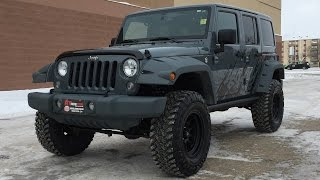 Lifted 2014 Jeep Wrangler Unlimited Sahara 4WD by #RTXC | CANADA