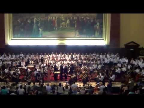 SINFONIA No. 9 BEETHOVEN- mvto.4 - OSJNJSM Y COROS Maestro Director MARIO BENZECRY