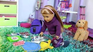 American Girl Doll McKenna Back To School