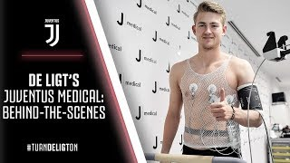 BEHIND-THE-SCENES | Matthijs de Ligt's Juventus medical
