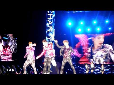 (HD)120609 TTS+EXO DJ Got Us Falling Love Again part1(EXO FOCUS)
