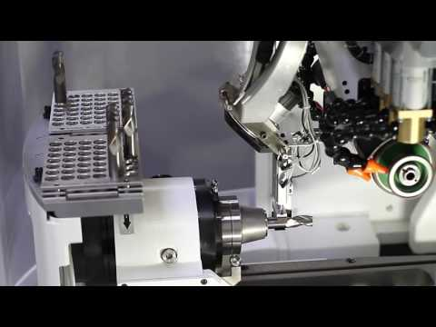 Walter Grinders - CNC Tool Grinder - Machine Integrated Loading System - TOP LOADER