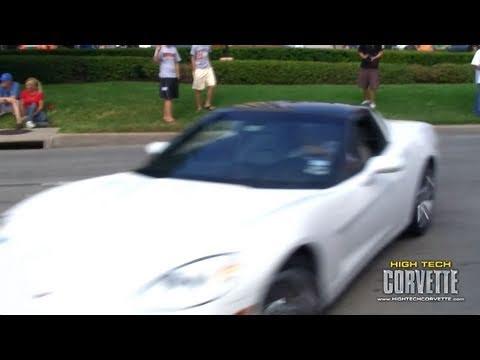 Coffee & Cars - Corvette crash
