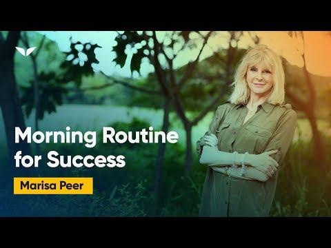 The Strange Morning Habit Of Highly Successful People — Marisa Peer