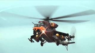 Máy Bay Trực Thăng Vũ Trang Hạng Nặng Mi-24