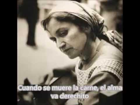 Violeta Parra - Rin del Angelito (Letra)