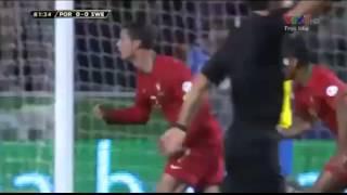 Cris Ronaldo toả sáng, Bồ Đào Nha thắng Thuỵ Điển 1-0