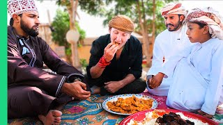 Is This Even HALAL!??! UNSEEN Desert Food of Oman's Bedouin People!!!