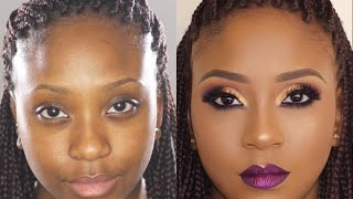 Bare to Glam Total Makeover   Makeup Transformation 5 •  Poised by Suliat