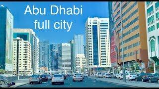Abu Dhabi Main city | Ultra video | United Arab Emirates city | UAE