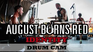 Matt Greiner | August Burns Red | Identity Drum Cam (LIVE)