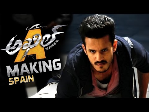 Akhil-Akkineni-Movie-Making-Video----Spain-Schedule