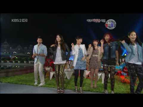 HD Wonder Girls Dance with TaeYeon (SNSD) May25.2010 GIRLS' GENERATION 720p