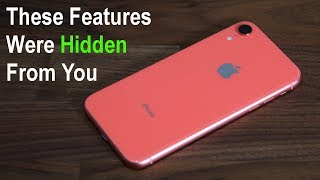 iPhone XR - 10 Actual Hidden Features Exposed