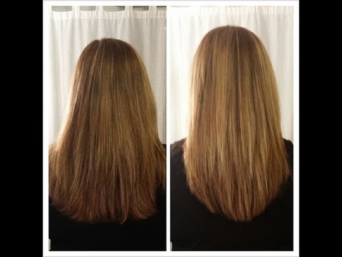 How To Cut Your Own Hair In Long Layers Easy Hair Cut