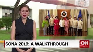SONA 2019: A walkthrough