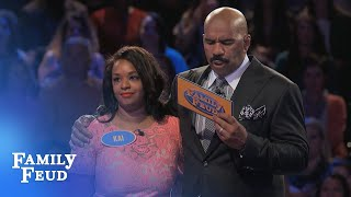 Kai CRUSHES Fast Money! | Family Feud