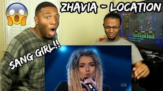 Zhavia: She's Only 16 But Wait What Happens When She Opens Her Mouth | S1E1 | The Four (REACTION)