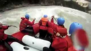 A group rafting adventure
