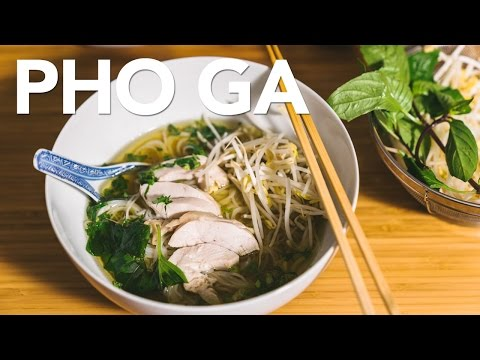 PHO GA - CHICKEN PHO with Instant Pot
