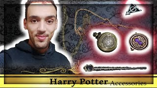 HARRY POTTER CLOCK & HERMIONE GRANGER WAND ❤️ | Harry Potter Accessories part 001