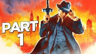 MAFIA DEFINITIVE EDITION Walkthrough Gameplay Part 1 - PROLOGUE (FULL GAME)
