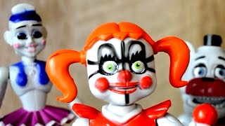 FNaF Sister Location BOOTLEG Action Figure Review
