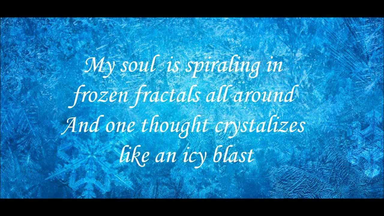 Let it go instrumental w. Lyrics (frozen) youtube.