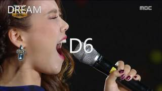 So Hyang (소향) - High Notes and Climaxes