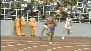 Bruce Jenner running the 400 in the 1976 decathlon