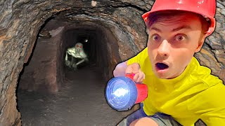 I Found an Abandoned Tunnel Under My House!!