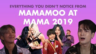 Everything You Didn't Notice from MAMAMOO at MAMA 2019 Part 1/3