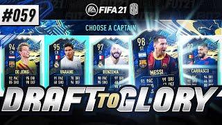 EPIC LA LIGA TOTS DRAFT!!! - #FIFA21 - ULTIMATE TEAM DRAFT TO GLORY #59