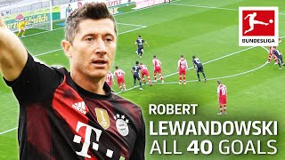 All 40 Goals of Robert Lewandowski 2020/21 so far