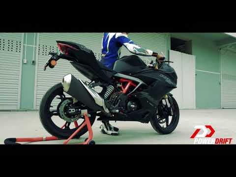 TVS Apache RR 310 : Exhaust Note : PowerDrift